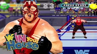 WWF In Your House: Vader Playthrough (PS1)