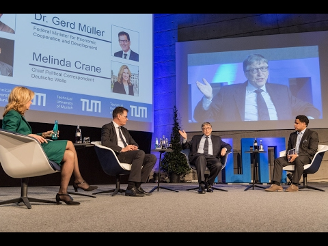 TUM Speakers Series: Bill Gates & Bundesminister Dr. Gerd Müller