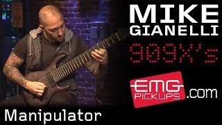 "Mike Gianelli performs ""Manipulator"" live on EMGtv"
