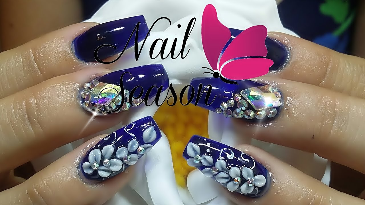 Videos Uñas Acrilicas Decoradas Uñas Decoradas 2017 Diseños Uñas Acrilicas Nail Art Ideas Y Tendencia