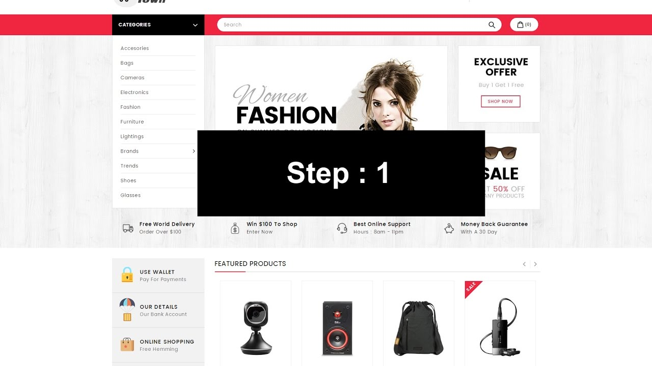 ThemeForest Shop Town - Download Sectioned Multipurpose