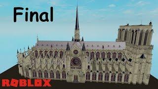 ROBLOX STUDIO SPEED BUILD / Notre Dame #11
