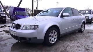 2001 Audi А4 (B6). Start Up, Engine, And In Depth Tour.