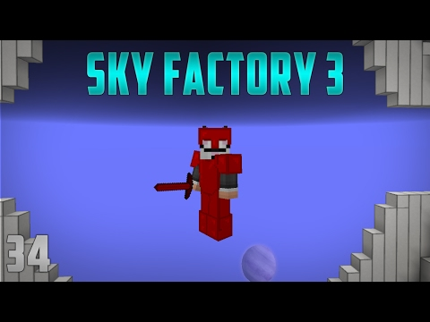 Sky Factory 3 EP 34 Supremium Armor + Draconic Bow - YouTube