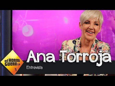 """Ana Torroja en El Hormiguero 3.0: """"La historia de Mecano empezó cuando me colé en una fiesta"""""""