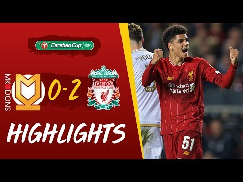 MK Dons vs Liverpool | Milner strike & Hoever header puts Re