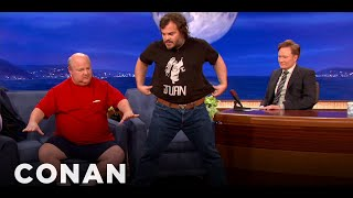 Tenacious D  Interview - CONAN on TBS