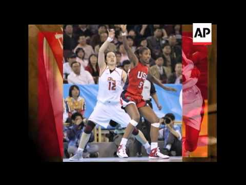 Lisa Leslie and the United States women