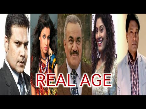 Real Age Of CID - सी आई डी - Cast - Ep 1446 - 23rd July 2017