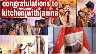 Kitchen with Amna wedding highlights   congratulations to kitchen with amna ❤️❤️❤️