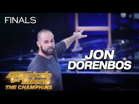 Jon Dorenbos: Magician Delivers Jaw-Dropping Performance ...