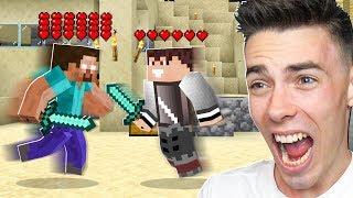 WALCZĘ z HEROBRINE w Minecraft!