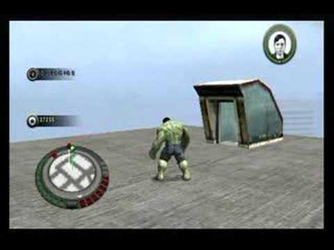 The Incredible Hulk Movie Game Walkthrough Part 5 (Wii)