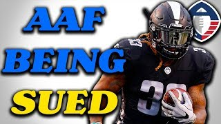 The AAF is Being Sued! + How Well is Trent Richardson REALLY Playing? AAF News