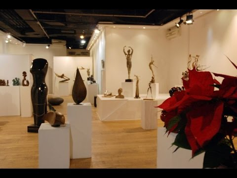 Stunning sculpture and ceramics exhibition in London