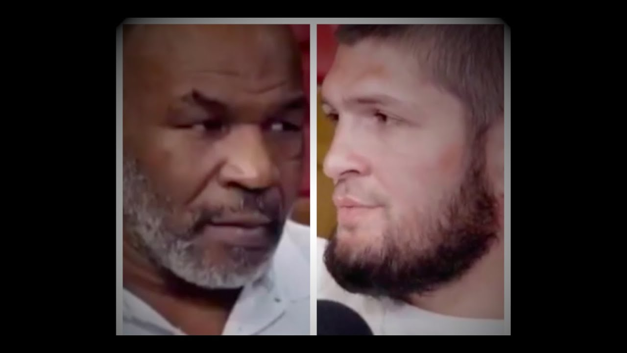 Mike Tyson loses his cool with Khabib...