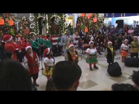 Cantata Diciembre 2015 Centro Comercial Santafe, Bogotá