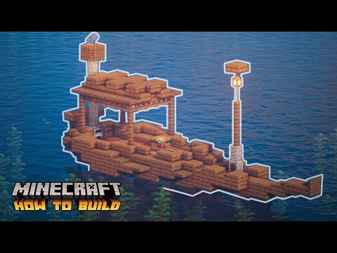 Minecraft: How to Build a Small Boat (Detailed Tutorial)