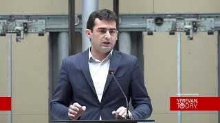 Հայաստանի շուկան շատ փոքր է և սահմանափակ, իսկ մենք պետք է մտածենք շատ մեծ. նախարար