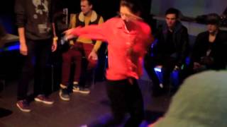 BgirlTanya. Toprock jam in Kaliningrad (Russia)