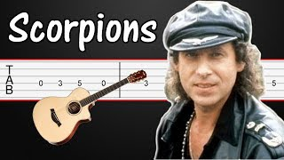 Still Loving You - Scorpions Guitar Tabs, Guitar Tutorial