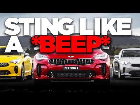 Kia Stinger review: Australian first drive! | CarAdvice - Dauer: 9 Minuten