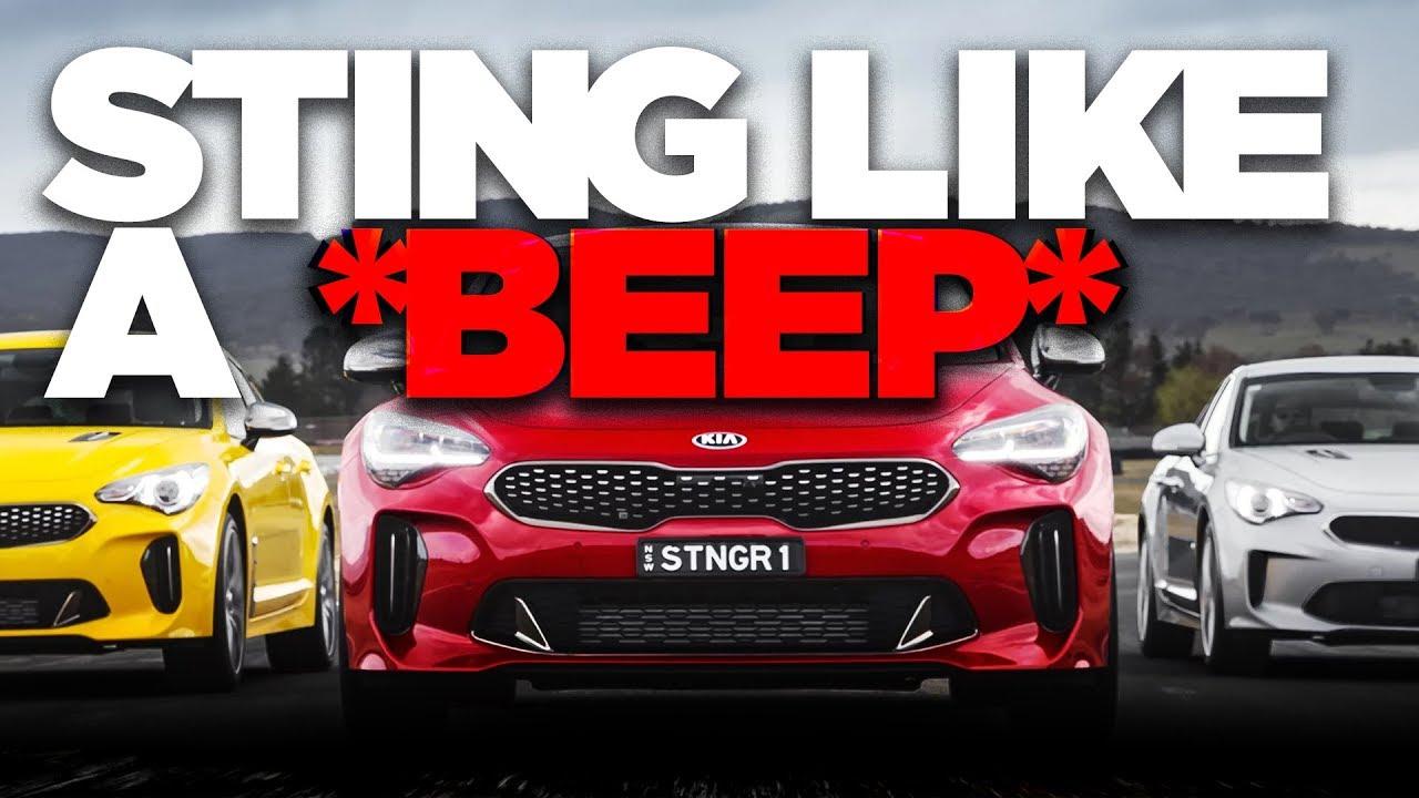 Kia Stinger Review Australian First Drive Caradvice Youtube