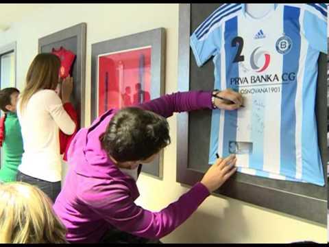 Svečani prijem ženske rukometne reprezentacije u Prvoj Banci CG