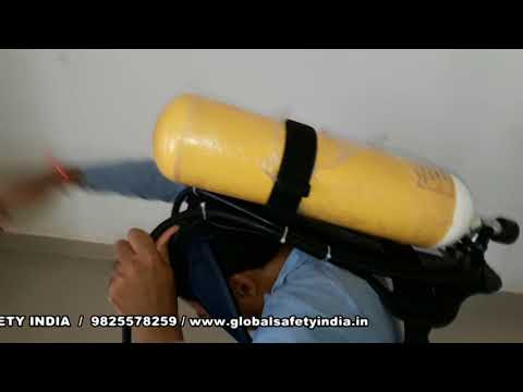 Drager breathing apparatus training in hindi