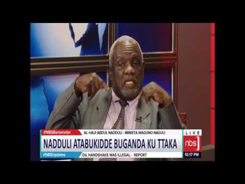 Nadduli Atabukidde Buganda ku Ttaka