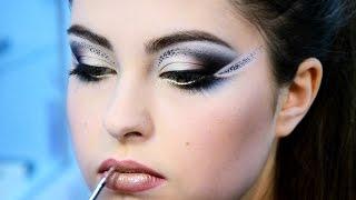 ИЗ АРХИВА: Яркий вечерний макияж