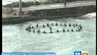 Bogliasco paddle-out in memory of Andy Irons