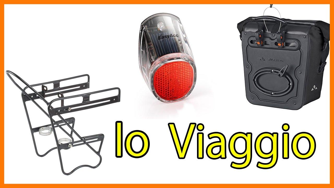 3e8a52d5be7 Portapacchi luci e borse da viaggio Vaude per la bici - YouTube