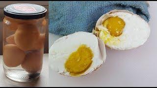 Homemade Salted Eggs ( 自制咸蛋)