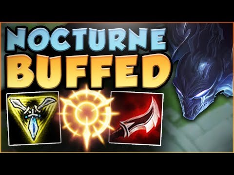 WTF...NOCTURNE BUFFS LET YOU HIDDEN TELEPORT?? NEW BUFFED NOCTURNE TOP GAMEPLAY! - League of Legends