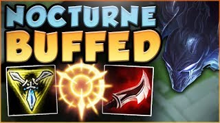 Baixar WTF...NOCTURNE BUFFS LET YOU HIDDEN TELEPORT?? NEW BUFFED NOCTURNE TOP GAMEPLAY! - League of Legends