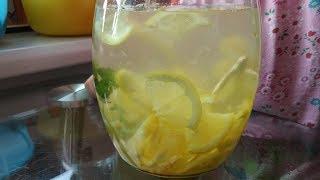 Вкусный и полезный напиток из Имбиря Лимона и Мёда