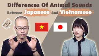 Differences Of Animal Sounds Between Japanese And Vietnamese || nghĩa samurai chan