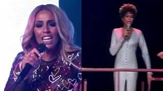 'Higher Love' duet Glennis Grace & Whitney Houston (Duo Screen)