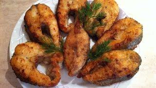 Рыба Щука жареная. Мамулины рецепты