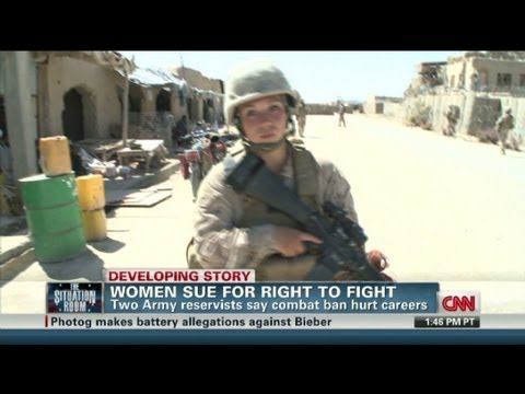 Women sue for right to combat jobs