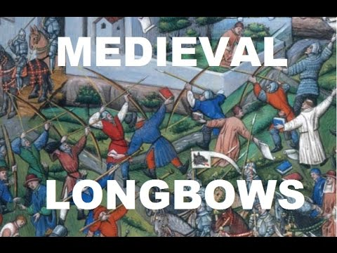 Medieval Warbows Or Longbows - Traditional Archery