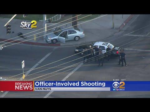 1 Shot, 2 Arrested In Van Nuys Officer-Involved Shooting