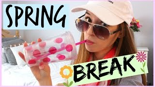 Spring Break Vacation Essentials + Tips!