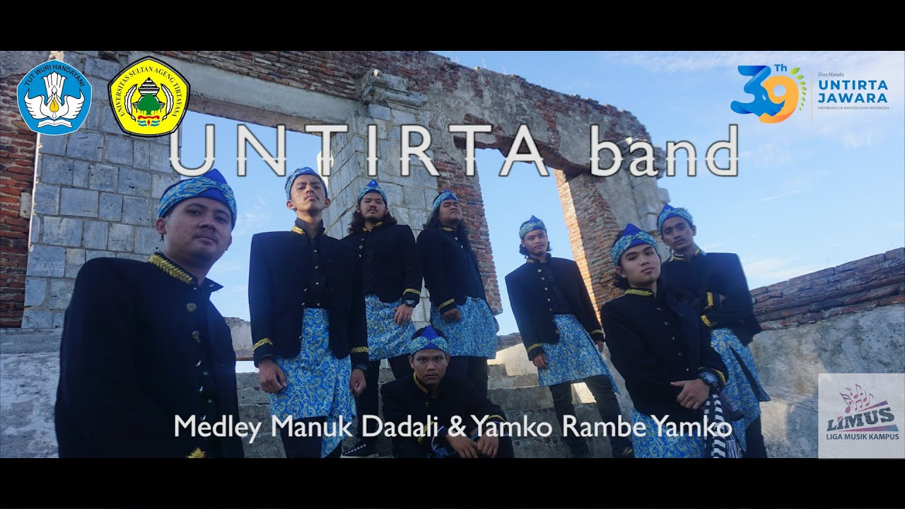 Untirta Band (Medley Manuk Dadali & Yamko Rambe Yamko) | Liga Musik Kampus 2020