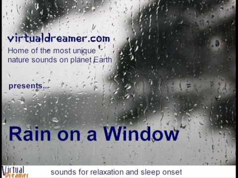 Le Son De La Pluie Sur Une Fenêtre
