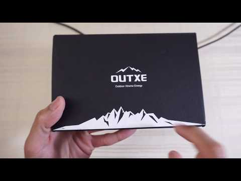 OUTXE 20000mAh Savage Rugged Solar Charger Power Bank!