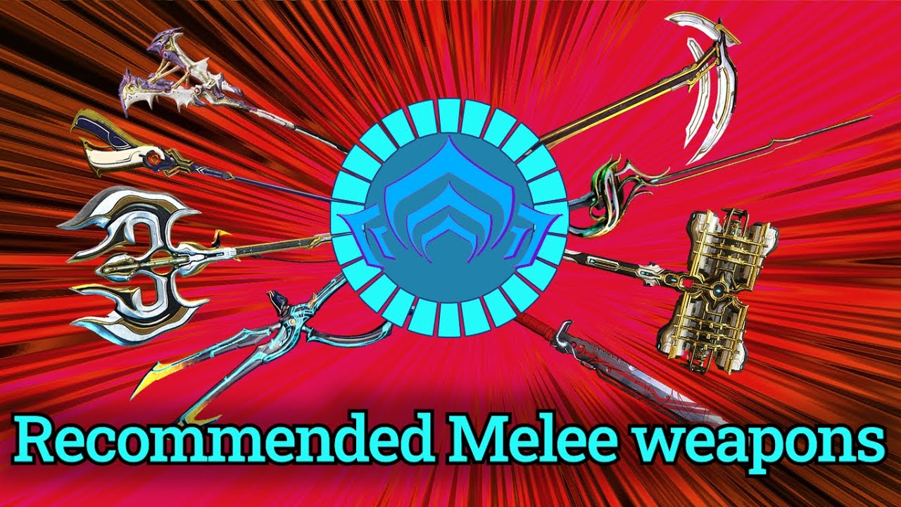 Warframe Recommended Melee Weapons For Each Mastery Rank Youtube