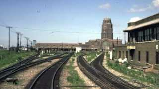 Buffalo Central Terminal in Color, 1964 & 1970, Buffalo, New York