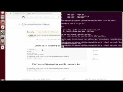 intro to git and putting our resume on github youtube